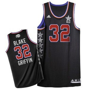 Maillot NBA Authentic Blake Griffin #32 Los Angeles Clippers 2015 All Star Noir - Homme
