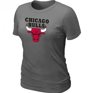 Chicago Bulls Big & Tall Tee-Shirt d'équipe de NBA - Gris foncé pour Femme