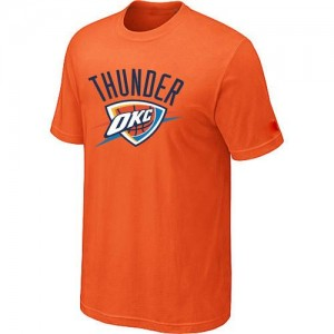 T-shirt principal de logo Oklahoma City Thunder NBA Big & Tall Orange - Homme