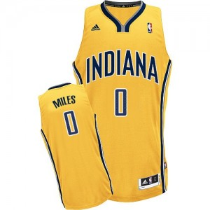 Maillot NBA Swingman C.J. Miles #0 Indiana Pacers Alternate Or - Homme