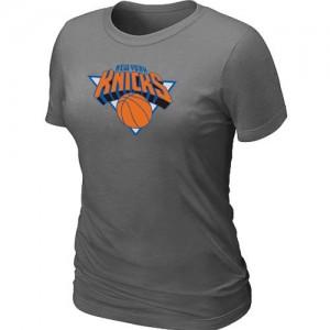 New York Knicks Big & Tall Tee-Shirt d'équipe de NBA - Gris foncé pour Femme