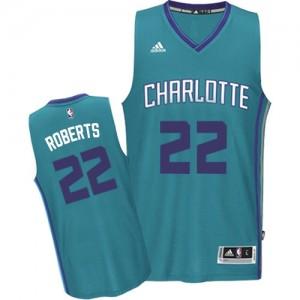 Charlotte Hornets #22 Adidas Road Bleu clair Authentic Maillot d'équipe de NBA pas cher - Brian Roberts pour Homme