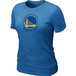 Golden State Warriors Big & Tall Tee-Shirt d'équipe de NBA - Bleu clair pour Femme