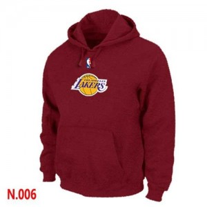 Sweat à capuche NBA Rouge Los Angeles Lakers Homme