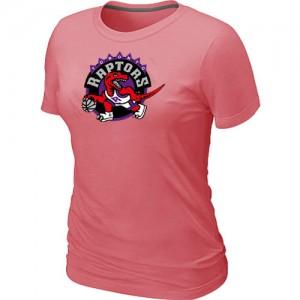 T-shirt principal de logo Toronto Raptors NBA Big & Tall Rose - Femme