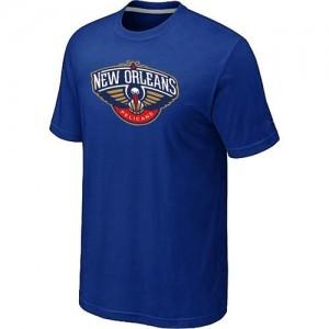 Tee-Shirt NBA Bleu New Orleans Pelicans Big & Tall Homme