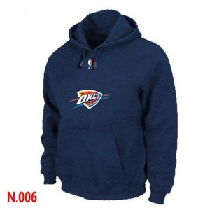 Sweat à capuche NBA Oklahoma City Thunder Marine - Homme