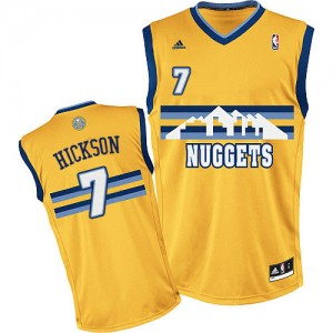 Maillot Swingman Denver Nuggets NBA Alternate Or - #7 JJ Hickson - Homme