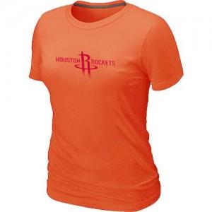 Tee-Shirt NBA Houston Rockets Orange Big & Tall - Femme