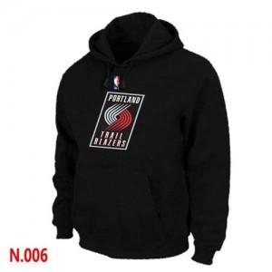 Pullover Sweat à capuche Portland Trail Blazers NBA Noir - Homme