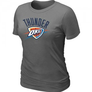 Tee-Shirt Gris foncé Big & Tall Oklahoma City Thunder - Femme