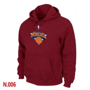 Sweat à capuche Rouge New York Knicks - Homme