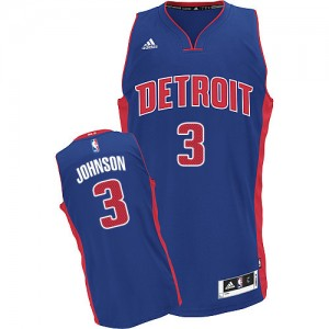 Maillot Swingman Detroit Pistons NBA Road Bleu royal - #3 Stanley Johnson - Homme