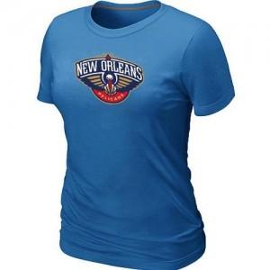 Tee-Shirt NBA New Orleans Pelicans Bleu clair Big & Tall - Femme