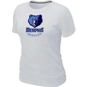 Tee-Shirt NBA Memphis Grizzlies Big & Tall Blanc - Femme