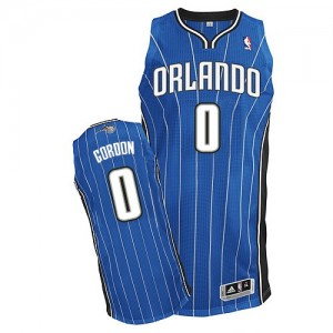 Maillot Adidas Bleu royal Road Authentic Orlando Magic - Aaron Gordon #0 - Homme