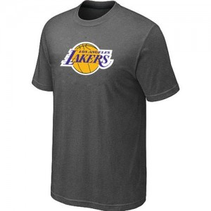 Tee-Shirt NBA Los Angeles Lakers Gris foncé Big & Tall - Homme