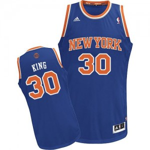 Maillot Swingman New York Knicks NBA Road Bleu royal - #30 Bernard King - Homme