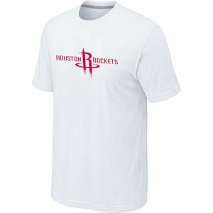 Houston Rockets Big & Tall Tee-Shirt d'équipe de NBA - Blanc pour Homme