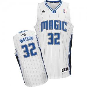 Maillot Adidas Blanc Home Swingman Orlando Magic - C.J. Watson #32 - Homme