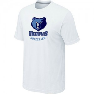 Tee-Shirt NBA Blanc Memphis Grizzlies Big & Tall Homme