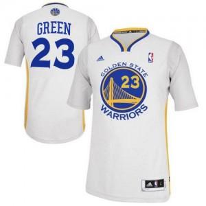 Maillot NBA Blanc Draymond Green #23 Golden State Warriors Alternate Swingman Homme Adidas