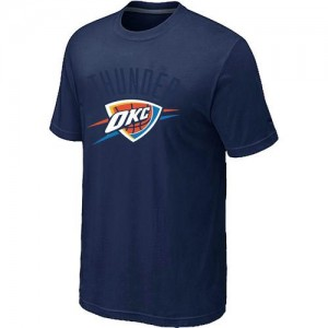 T-shirt principal de logo Oklahoma City Thunder NBA Big & Tall Marine - Homme