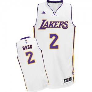 Maillot Swingman Los Angeles Lakers NBA Alternate Blanc - #2 Brandon Bass - Homme
