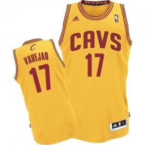 Cleveland Cavaliers Anderson Varejao #17 Alternate Swingman Maillot d'équipe de NBA - Or pour Homme