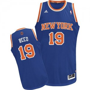 Maillot Swingman New York Knicks NBA Road Bleu royal - #19 Willis Reed - Homme