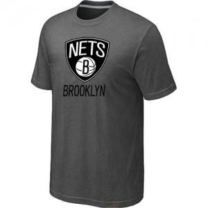 Brooklyn Nets Big & Tall Tee-Shirt d'équipe de NBA - Gris foncé pour Homme