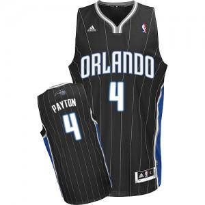 Orlando Magic #4 Adidas Alternate Noir Swingman Maillot d'équipe de NBA Magasin d'usine - Elfrid Payton pour Homme