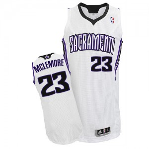 Maillot NBA Sacramento Kings #23 Ben McLemore Blanc Adidas Authentic Home - Homme