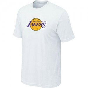 Los Angeles Lakers Big & Tall Blanc Tee-Shirt d'équipe de NBA en vente en ligne - pour Homme