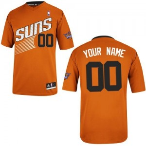 Phoenix Suns Personnalisé Adidas Alternate Orange Maillot d'équipe de NBA pour pas cher - Authentic pour Femme