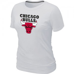 Tee-Shirt NBA Blanc Chicago Bulls Big & Tall Femme