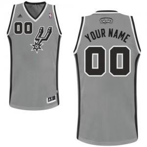 Maillot San Antonio Spurs NBA Alternate Gris argenté - Personnalisé Swingman - Homme
