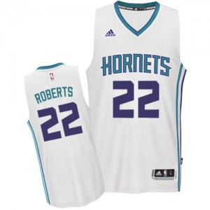 Maillot Swingman Charlotte Hornets NBA Home Blanc - #22 Brian Roberts - Homme