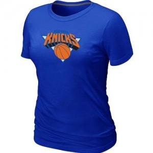 New York Knicks Big & Tall Tee-Shirt d'équipe de NBA - Bleu pour Femme