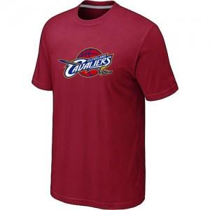 Cleveland Cavaliers Big & Tall Rouge Tee-Shirt d'équipe de NBA pas cher - pour Homme