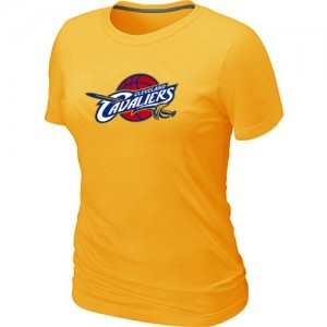 Tee-Shirt NBA Cleveland Cavaliers Big & Tall Jaune - Femme