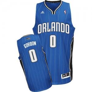 Maillot Adidas Bleu royal Road Swingman Orlando Magic - Aaron Gordon #0 - Homme