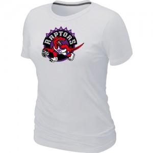 Toronto Raptors Big & Tall Tee-Shirt d'équipe de NBA - Blanc pour Femme
