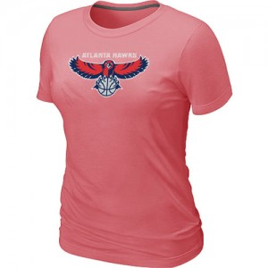 Tee-Shirt NBA Atlanta Hawks Big & Tall Rose - Femme