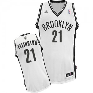 Maillot Swingman Brooklyn Nets NBA Home Blanc - #21 Wayne Ellington - Homme