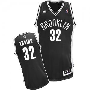 Brooklyn Nets #32 Adidas Road Noir Swingman Maillot d'équipe de NBA prix d'usine en ligne - Julius Erving pour Homme