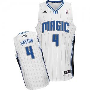 Orlando Magic Elfrid Payton #4 Home Swingman Maillot d'équipe de NBA - Blanc pour Homme