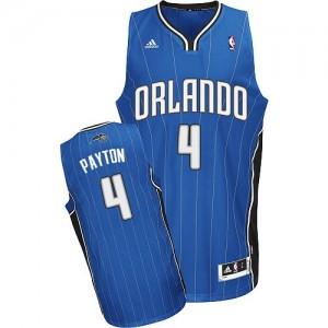 Orlando Magic #4 Adidas Road Bleu royal Swingman Maillot d'équipe de NBA 100% authentique - Elfrid Payton pour Homme