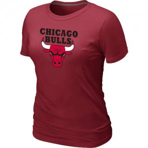 Tee-Shirt NBA Rouge Chicago Bulls Big & Tall Femme