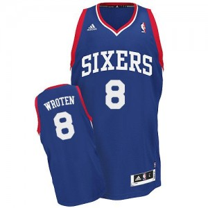 Maillot Adidas Bleu royal Alternate Swingman Philadelphia 76ers - Tony Wroten #8 - Homme